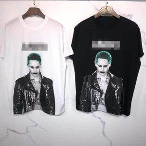 AMIRI T Shirt Mens Women Brand Designer T Shirt Mad Clown Printed Tees Short Sleeve Fashion Streetwear Designer Tee Fashion zx 20042508L