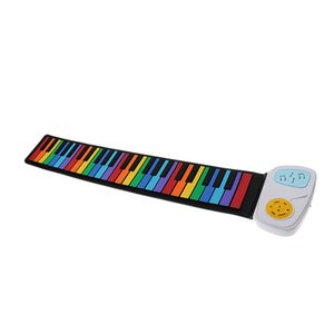 Finest 49 Keys Electronic Piano Silicon Roll Up Piano Children Keyboard Instrument