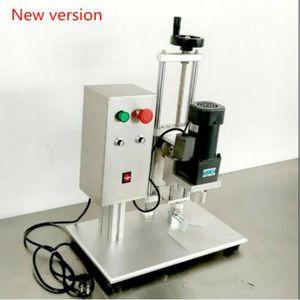 1 STÜCK Automatische verschließmaschine, runde kappen, capping durchmesser 10-50mm schraubverschließmaschine