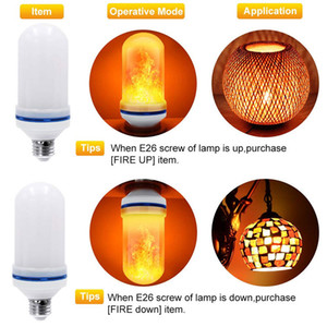 BRELONG LED Flame Effect Лампочка шаблон Хэллоуин украшения / Гостиница / Бар / Рождество украшения партии E27 1 шт