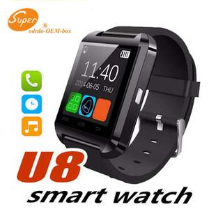 Mais recente relógio inteligente U8 bluetooth smartwatch moda relógio inteligente relógio de pulso para phone6 5s 4 samsung galaxy S6 5 4 note4 3 2 IOS