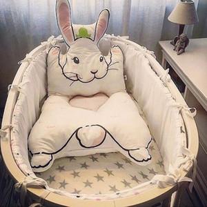 Tavşan Halı Yatak Pad Çocuk Playmats Bebek Emekleme Battaniye Spor Yatağı Odası Dekorasyon S3 için Mat Zemin Halı Yastık oyna