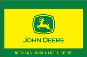 150 см * 90 см JOHN DEERE флаг баннер 3 * 5 футов полиэстер пользовательские висит дома декоративные