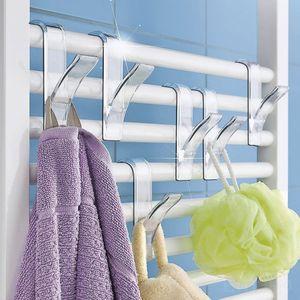 High Quality Hanger for Heated Towel Radiator Rail Bath Hook Holder Clothes Hanger Scarf Hanger