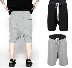 Cool2019 하이 다크 스트리트 타이즈 브랜드 Ro 스타일 Easy Will 가랑이 바지 Gd Sagging Shorts Haren Pants 남성 힙합 쇼츠 Will Code
