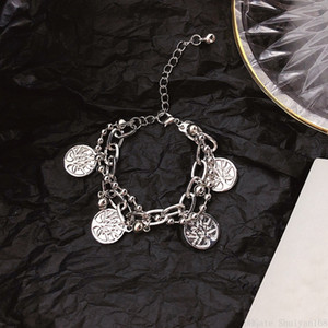 Tree of Life Charm Bracelets Multilayer Metal Bangle Statement Bracelet Fashion Jewelry for Men Women Christmas Gift Cheap Wholesale