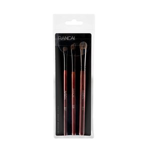 New hot sale RANCAI3 pony hair eye shadow brush set makeup brush animal hair eye makeup tool
