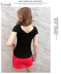 Mesh Patchwork V Neck Circular Cape Diamonds Tshirt 2019 New Summer Women Fashion Short Sleeve Top Camiseta Short Mujer Black T95809l