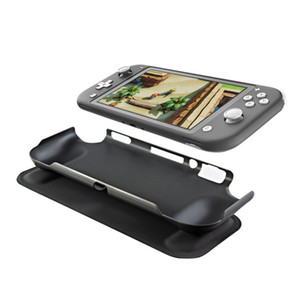 Housse de protection Grip Case pour Nintendo Commutateur Lite, Slim souple anti-choc TPU Couverture anti-rayures Switch Lite Noir