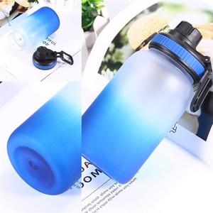 Tazze per acqua a cambiamento graduale di colore Uomo Donna Sport acquatici Bottiglia per acqua Multi colori Bottiglie in plastica Vendita calda 8 anni L1