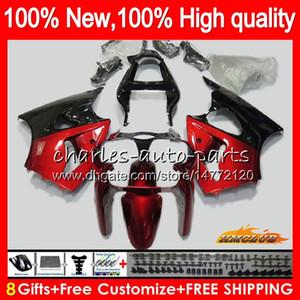 Body For KAWASAKI ZX-636 ZX 600 CC 6 R Metal red hot ZX636 ZX 636 600CC 37HC.32 ZX-6R ZX600 ZX6R 00 01 02 ZX 6R 2000 2001 2002 Fairings kit