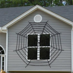 3 Taille géant Stretchy Spider Web Halloween Cobweb Terror Party Decoration Bar Haunted Accueil Halloween Spiders Web