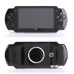 10000 tipi di giochi console di gioco portatile schermo da 4,3 pollici lettore mp4 lettore di giochi MP5 supporto reale da 8 GB per gioco psp con videocamera video e-book