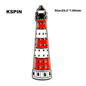 Light House Lapal Pin On Backpack Pins For Clothes XY0106