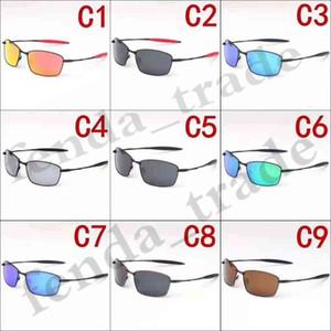 VENTA CALIENTE de verano 5 UNIDS marca NUEVO hombre que conduce gafas de sol Gafas deportivas hombre mujer marco de metal polarizado Gafas de sol Gafas de viaje
