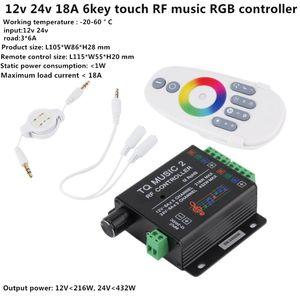 Feature: Marque nouvelle et de haute qualité. 20Key infrarouge contrôleur LED musique adopte l'unité de micro-commande avancé. Il est utilisé pour contrôler