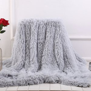 Online Shopping Sofa Soft Blankets 4 Size Fleece Blankets 14 Colors Throw Blanket BH19046