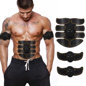 Abs and Arms Stimulator Muscle Abdominal Muscle Training Device for Fitness Workout Home Gym Arm Leg Massage with USB Charging Cable