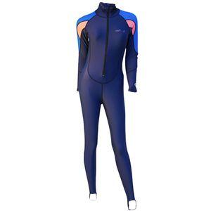 Men Women Wetsuit Surfing Swimming Freedive Scuba Diving Front Zip Suit UPF50+ UV Sun Protection Rash Guard Swimwear - All Size & Color