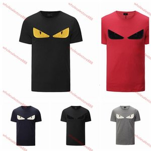 xshfbcl EYES Mens progettista T-shirts lusso New marque progettista Short Sleeves Fashion Printed Tops Casual Outdoor Clothes 2020 Summer 6