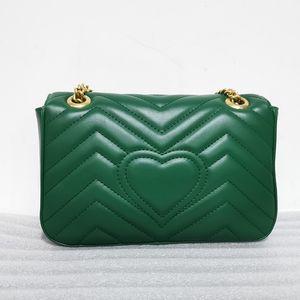 New Women Bag Clutch for Office Daily Bag Big Brand Design Heart Chain Small Leather Single Shoulder Oblique Cross handbag