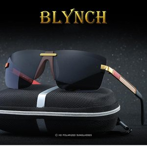 Blych Sunglasses Men Polarized Luxury Mens Accessories Rectangle Polarized Men Trending Products 2020 Hd Gepolariseerde IEPTh
