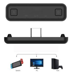 GuliKit NS07 الطريق بلوتوث الهواء صوت لاسلكي نوع محول-C الارسال لنينتندو التبديل تبديل لايت PS4 PC