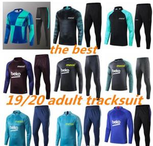 2020 2019 HOMENS Jackets Training roupas fatos de treino jersey INIESTA O.DEMBELE PIQUE futebol do futebol calcio fútbol Hot Sale messi camisetas nova sr
