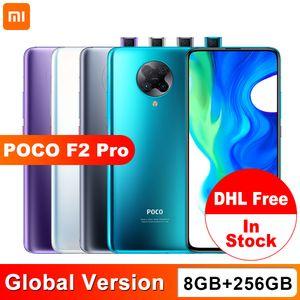 Version mondiale Xiaomi POCO F2 Pro 8 Go 256Go Qualcomm Snapdragon 865 64MP Quad caméra arrière Smartphone 6,67 pouces 20MP pop-up avant