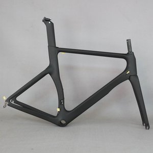 Tantan Factory New Aero Design Tutto Nero Color Carbon Road Bike Frame in fibra di carbonio Racing Bicycle Frame700C Accetta Pittura