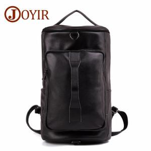 Brand Casual rucksack Men vintage Leather Travel Bag Large Capacity Mountaineering Genuine Bucket Shoulder black designer backpacks luxury