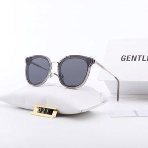 Luxury designer classic men's sunglasses, fashion board frame glasses, top quality retro temperament polarized sunglasses