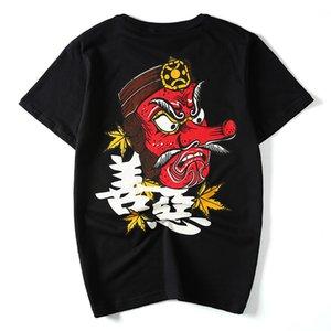 Cool2019 Punk Marchio Marchio Personalità Trend Xi Hai Bank Stampa Mezza manica Codificherà Man Manica corta T Pietà