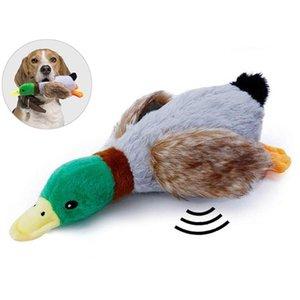 Funny Pet Chew Toy creativo pato Forma Anti-Bite Juego Squeaky Juguete para mascotas Juguete para Gatos Perros alimentos para mascotas para perros favores del gato