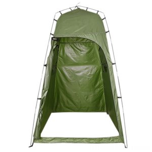 Upgraded Version Camping Toilet Outdoor Single Person Bath Hiking and Camping Camping & Hiking Shower Tent Portable Dressing Account Move Te
