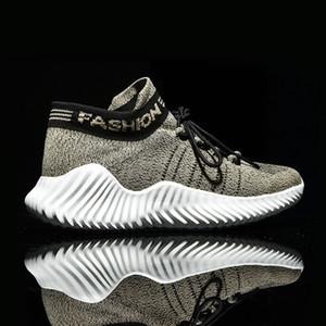 2020 Exteriores tênis de corrida do Bravover New Men respirável masculinos sapatilhas adultas antideslizantes confortáveis malha Athletic Shoes 3 Cores