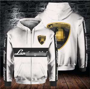 F12020 trendy fleece warm sweater men and women motorcycle outdoor riding racing suit sweater jacket
