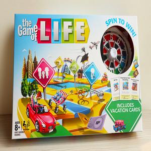 El juego de la interacción entre padres e hijos vida de la tarjeta aventuras de juegos familiares amigos fiesta divertido de estrategia clásico juego de mesa
