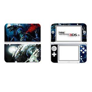 Monster Hunter Vinyl Cover Decal Skin Sticker for NEW 3DS XL LL Skins Stickers for NEW 3DSLL Vinyl Skin Sticker Protector