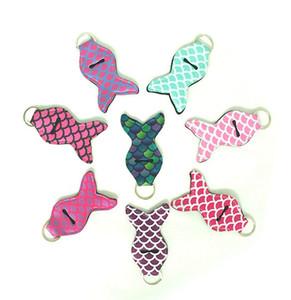 Neopren Lippenstift Keychain Mermaid Chapstick Halter Personal Chapstick Wrap-Schlüsselring-Hülsen-Frauen-Balsam-Halter Partei-Bevorzugung 100pcs YW1756-L1