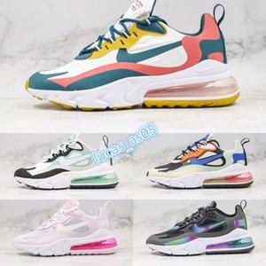 2020 new max 270V2 Wavy line React Run sneaker Running Shoes sport for Women Men air sole designer shoes