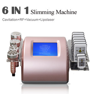 Radio Frequency RF Bipolar Ultrasonic Cavitation 5in1 Cellulite Removal Face Body Slimming Machine Vacuum Weight Loss Beauty Equipme