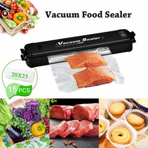 Commercial Food Saver Vacuum Sealer Machine Storage Kitchen Meal Fresh Sealing Automatic Foodsaver System Within 15PCS Bags