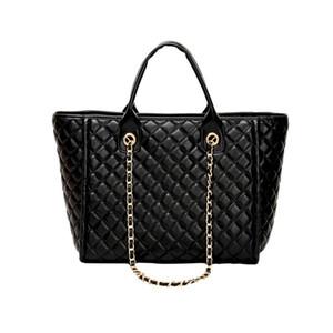 Wobag сумки Женщины плед Сумки женские кожаные Сумка большой емкости черный Портативная сумка болса мешок