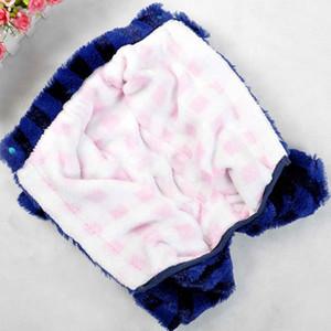 Bon marché en gros animaux chiot vêtements pour chiens Automne Hiver Épaississement Dans l'ensemble chien vers le bas Jumpsuit chaud Doublure chiot Manteau Taille 8-18