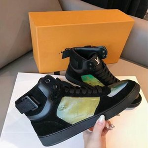 2019 Hococal autumn and winter new high-top fashion luxury men's boots trend design ladies sports shoes size 36-44