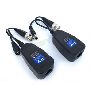 50 пар / лот HD DC пассивный коаксиальный разъем Cat5 BNC витой аксессуары трансивер BNC UTP CCTV Video Balun для HD AHD TVI CVI CVBS камеры