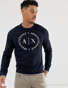 мужские 2019 роскошного дизайн одежды весны осень нового свитер мужской шея тонкая длинный рукав дно фуфайка мужского дизайн толстовка