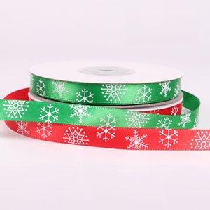 25Yards / Rulo Noel Şerit Chrismas Düğün Dekorasyon Kek Şeker Kutusu Kurdeleler Parti'yi Packaging Wrap Hediye DIY Packaging DBC DH2608 Malzemeleri