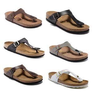 Gizeh pantoufles gros-été pour les hommes et les femmes, 2020 nouvelles tongs fond liège, des sandales avec un flip flip flops flope couple Mayari 34-46